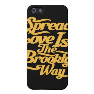 Brooklyn Love Yellow iPhone 5 Case