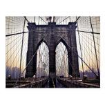 Brooklyn melancólica tarjeta postal