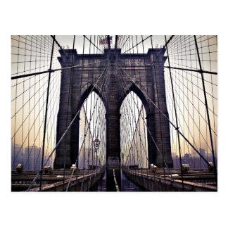 Brooklyn melancólica tarjetas postales