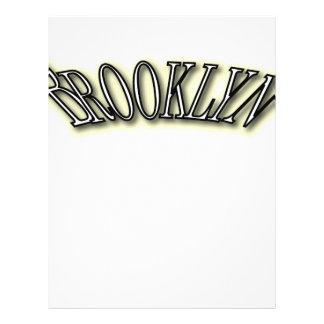 Brooklyn Membrete Personalizado