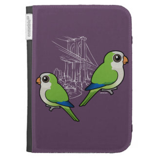Brooklyn Monk Parakeets Kindle Case
