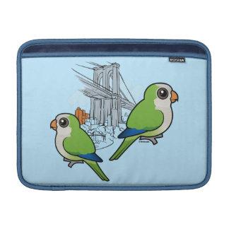 Brooklyn Monk Parakeets MacBook Air Sleeves
