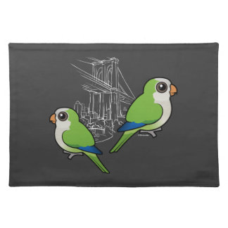 Brooklyn Monk Parakeets Placemat