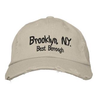 Brooklyn, N.Y., Best Borough Embroidered Baseball Caps