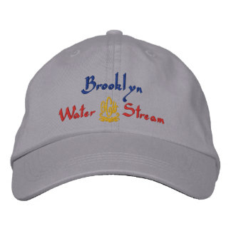 Brooklyn Name With English Meaning Grey Embroidered Baseball Hat