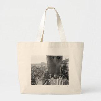 Brooklyn Navy Yard, early 1900s Canvas Bags
