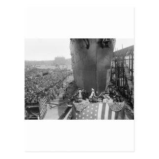 Brooklyn Navy Yard, early 1900s Postcard