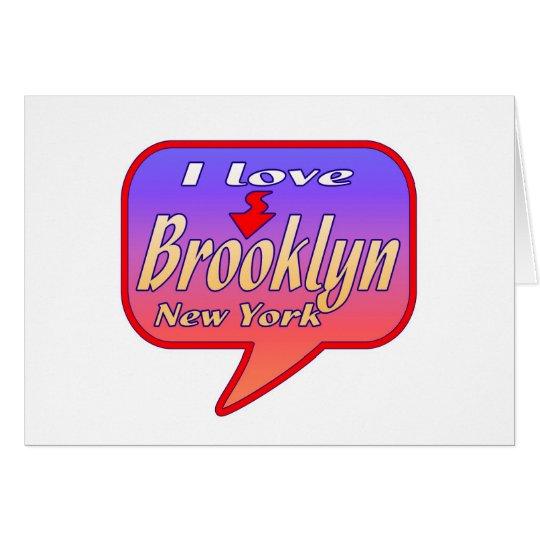Brooklyn New York Card