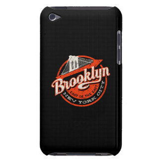 Brooklyn New York City | Retro Typography Case-Mate iPod Touch Case