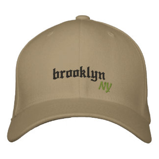 Brooklyn New York Embroidered Baseball Hat