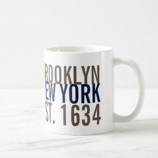 Brooklyn New York Established 1634 Coffee Mug