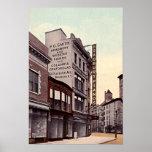 Brooklyn New York Flatbush Avenue 1915 Print