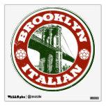 Brooklyn New York Italians Wall Sticker