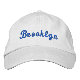 Brooklyn New York Personalized Adjustable Hat