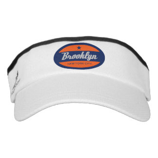 Brooklyn New York Visor Hat