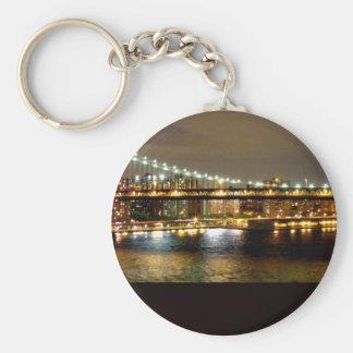 Brooklyn New York Wedding Design Keychain
