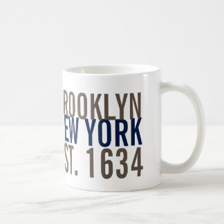 Brooklyn Nueva York estableció la taza 1634 de