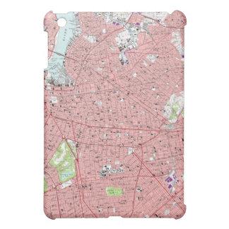 Brooklyn, NY, caja de la mota del mapa del vintage