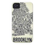 Brooklyn NY iPhone 4 Cárcasas