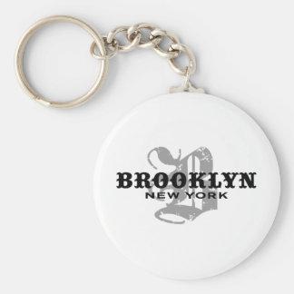 Brooklyn NY Keychain