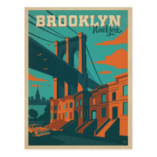 Vintage brooklyn postcards zazzle brooklyn ny postcard malvernweather