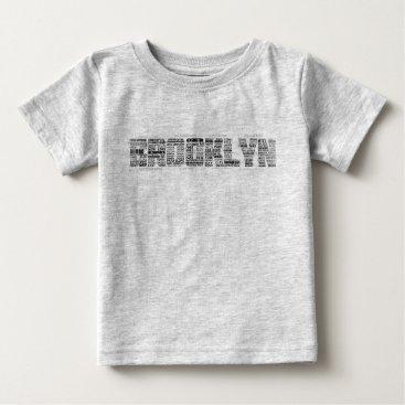Art Themed Brooklyn NY Typography Tee Shirt, BK, New York