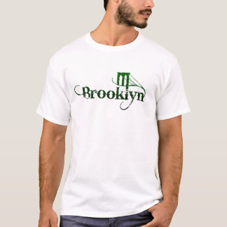 Brooklyn on a Light Color T-Shirt