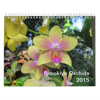 Brooklyn Orchids 2015 Calendar