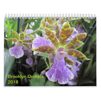 Brooklyn Orchids 2018 Calendar