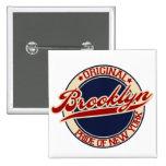 Brooklyn Pin Cuadrada 5 Cm