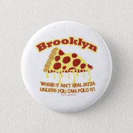 Brooklyn Pizza Button