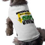 Brooklyn por Jamaica con las flechas Playera Sin Mangas Para Perro