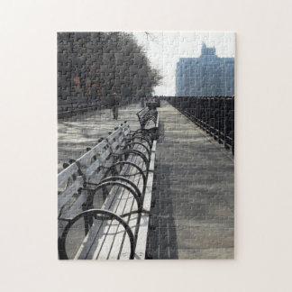 Brooklyn Promenade City Benches Puzzle