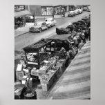 Brooklyn Pushcart Market: 1960 Poster