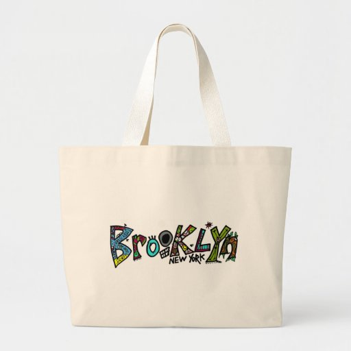 Brooklyn rules! on just about any product canvas bag
