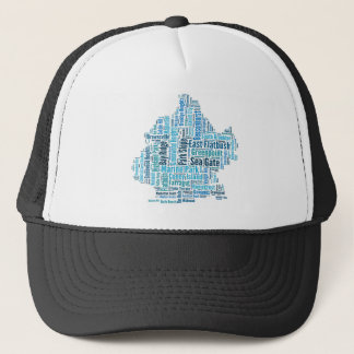 Brooklyn Shirt 2 neighborhoods Trucker Hat