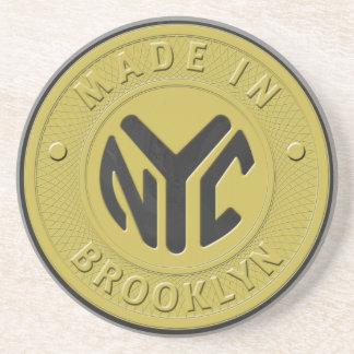 Brooklyn Subway Token Coaster