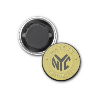Brooklyn Subway Token Magnet