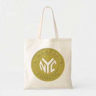 Brooklyn Subway Token Tote Bag