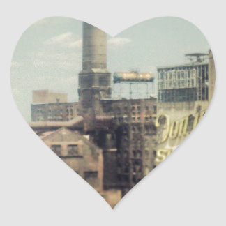 Brooklyn Sugar Factory Heart Sticker