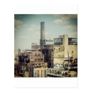 Brooklyn Sugar Factory Postcard