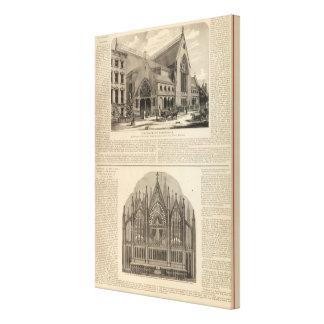 Brooklyn Tabernacle Great Organ Built Canvas Print