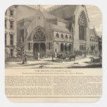 Brooklyn Tabernacle Great Organ Built Square Sticker