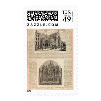 Brooklyn Tabernacle Great Organ Built Stamp