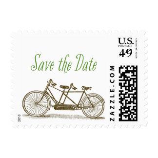 Brooklyn Tandem Bike Save the Date Postage