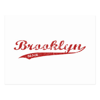 Brooklyn Tarjeta Postal