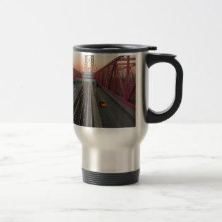 Brooklyn Taxi Travel Mug