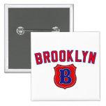 Brooklyn Throwback Pinback Button