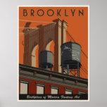 Brooklyn, un tributo poster