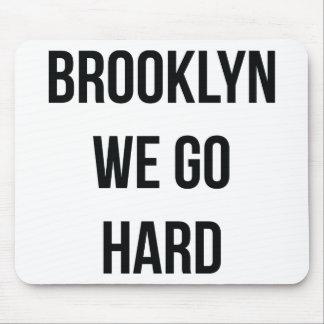 Brooklyn vamos difícilmente alfombrilla de ratones